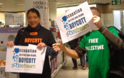 Action Boycott Sodastream le 16-11-2013