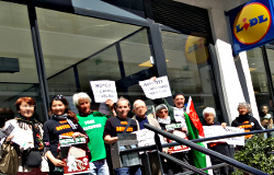 "Action ""Boycott Apartheid"" 21 mai 2016"