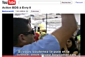 Video Boycott à Evry II
