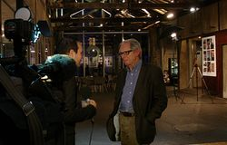 Ken Loach - Photo collectif 69 Palestine