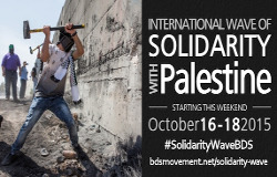 Vague intrnationale Solidarité #SolidarityWaveBDS