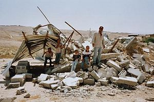 destruction de villages bedouins