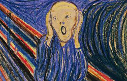 """Le Cri"" d'Edward Munch"