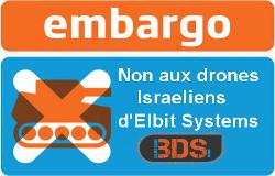 Non aux drones d'Elbit System