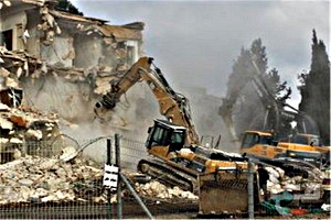 DEMOLITION HOTEL SHEPERD