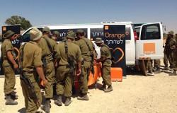 Durant l'été 2014 Orange apporte un soutien aux soldats israéliens