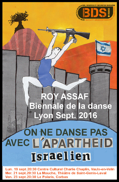 Roy Assaf : On ne danse pas avec l'apartheid
