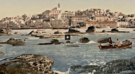 Jaffa - Photo couleur historique